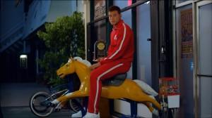 Blake Griffin on a Horse - Kia